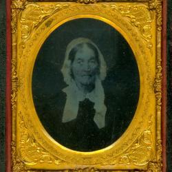 Cased Photograph, Elizabeth G. Church