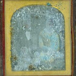 Cased Photograph, Mr. And Mrs. James D.  Robinson