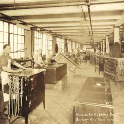Photograph, Berkey and Gay Furniture Company, Rubbing Department