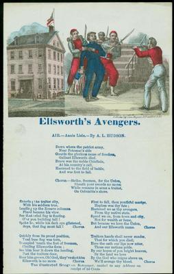 Song Sheet, Ellsworth's Avengers