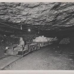 Photograph, Interior Of A Gypsum Mine, F1.6.6