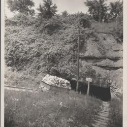 Photograph, Entrance To The Gypsum Mines, F16.7