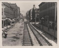 Photograph, Construction on Division Ave S
