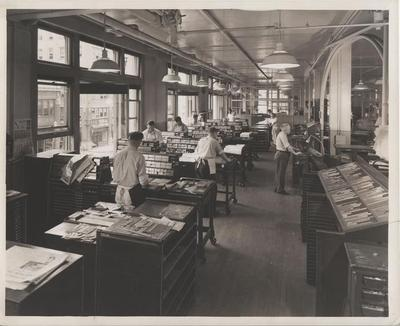 Grand Rapids Press Printing Press
