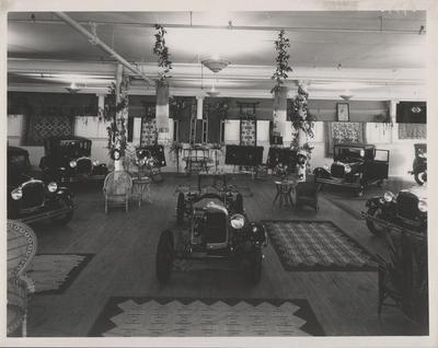 Photograph, Automobile Showroom