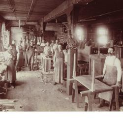Photograph, Nelson Matter Furniture Company, Carvers and Cabinet Makers