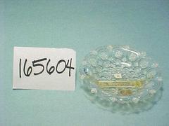Candy Dish, Bullseye With Diamond Point Pattern