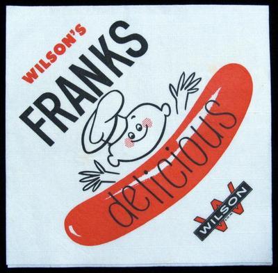 Napkin, Wilson's Franks