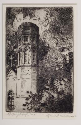Print, 'belfry [church] - State Iii (final; Edition State)' (3 Of  3)