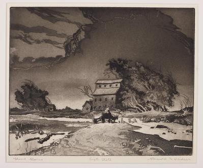 Print, 'flood Rains - State Ix (final; Edition State)' (9 Of 9)