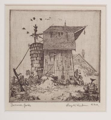 Print, 'farmer Jones - State I' (1 Of 1)