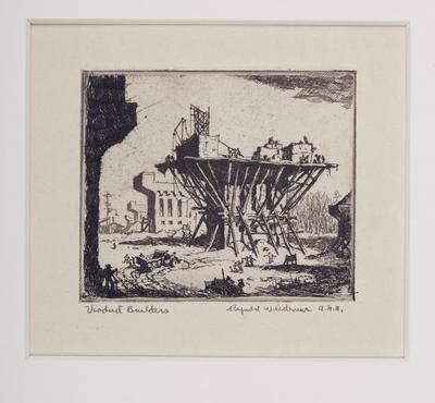 Print, 'viaduct Builders - State I (final; Edition State)' (1 Of  1)