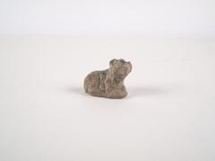 Game Piece in the Shape of a Lion, Faience