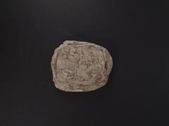 Modern Cast Of Clay Stele, Plaster