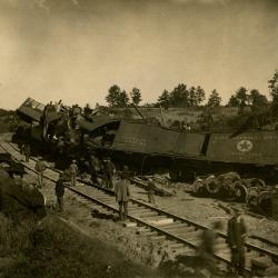 Photograph, Train Wreck