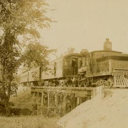 Photograph, Passenger Train