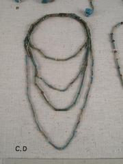 Necklace, Faience