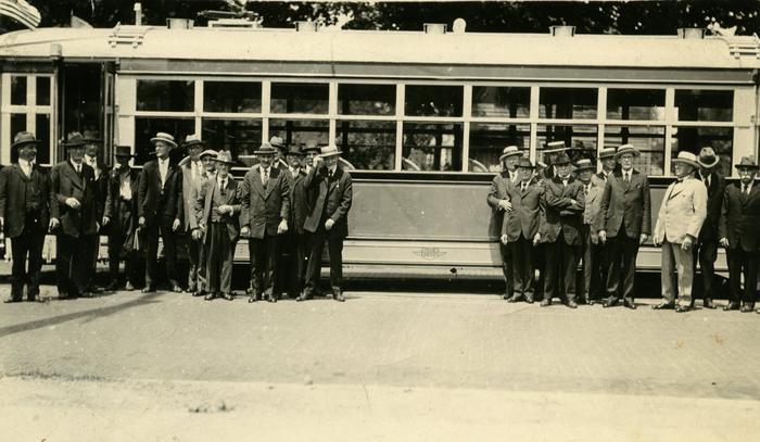 Photograph, Daniel H. Water Coach Parade