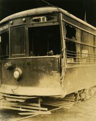 Photograph, Street Car Damage