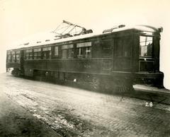 Photograph, Michigan Railway Lines, Streetcar