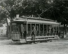 Photograph, Wealthy Ave And Scribner Street Car