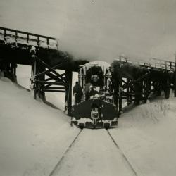 Photograph, Train In Snow