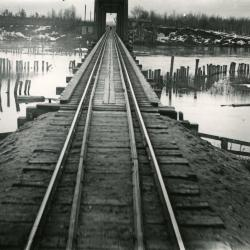 Photograph, Train Tracks Over Water
