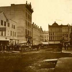 Photograph, Market Street Looking Toward Monroe Ave