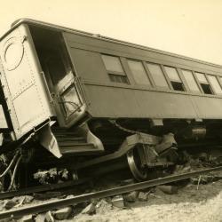 Photograph, Train Off Tracks