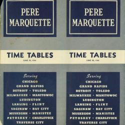 Timetable, Pere Marquette