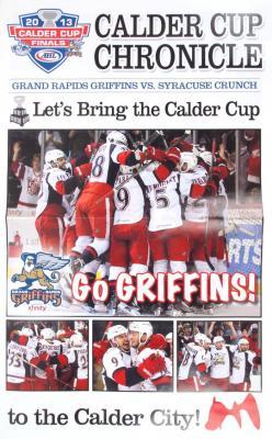 Program, Grand Rapids Griffins Calder Cup Chronicle