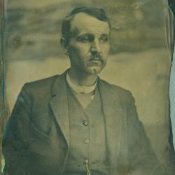 Cased Photograph, George Trumble Hunter