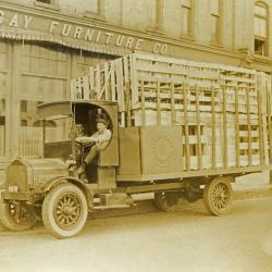 Photograph, Berkey and Gay Furniture Company Truck