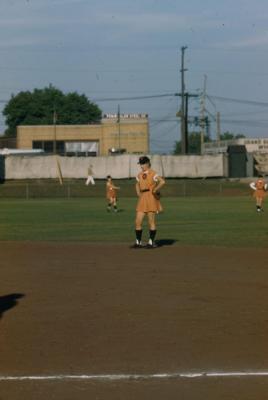 Slide, Charlene Barnett, All-American Girls Baseball League