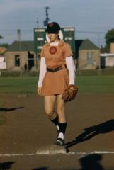 Slide, Identified Player, All-American Girls Baseball League