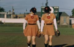 Slide, Rockford Players, All-American Girls Professional Baseball