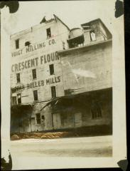 Photograph, Star Mill, East, West, and South Side after fire ca. 1917