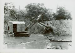 Photograph, Raising Canal Bank, August 25, 1947