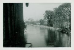 Photograph, Canal north from about Brown & Sehler building, October 14, 1943