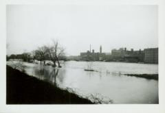 Photograph, High Water of River and Canal, March 1942