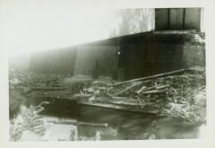 Photograph, Canal at Star Mill flume, October 2, 1943