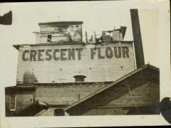 Photograph, Star Mill, East, West, and South Side after fire, ca. 1917
