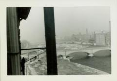 Photograph, View of Downtown from Crescent Mill, 1943
