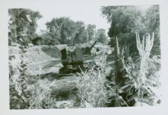 Photograph, Raising Canal Bank, August 22, 1947