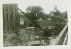 Photograph, Canal at Star Mill flume, October 1943