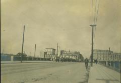 Photograph, Star Mill from Michigan St. Bridge, 1890s