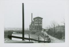 Photograph, Crescent Mill from Inter-Urban Bridge, April 10, 1947