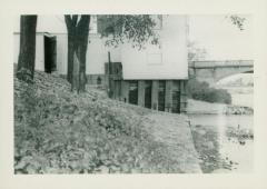 Photograph, Star Mill flume, October 20, 1948