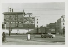 Photograph, Crescent Mill from the West, mid 1950s