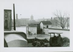 Photograph, Star Mill Wheel House looking East, April 10, 1947